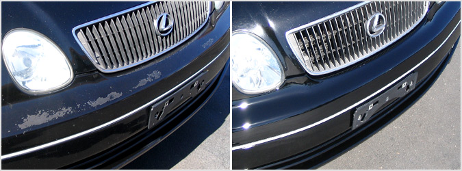 All In One Auto Care Bumper Refinishing